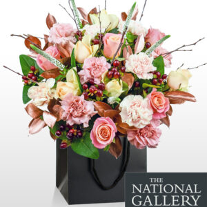Da Vinci Burlington - National Gallery Flowers - National Gallery Bouquets - Luxury Flowers - Birthday Flowers - Luxury Flower Delivery